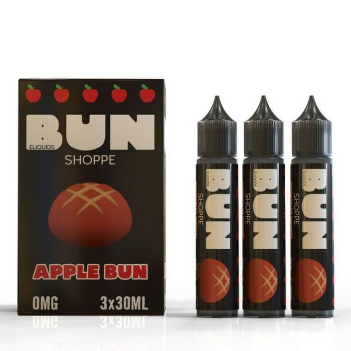 Apple Bun by Bun Shoppe E-Liquids - Cheap Vape Juice - East Coast Vape Distribution
