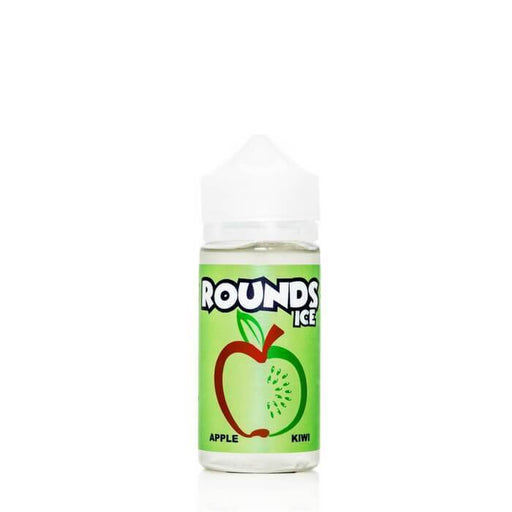 Apple Kiwi by Rounds Ice E-Liquid - Cheap Vape Juice - East Coast Vape Distribution