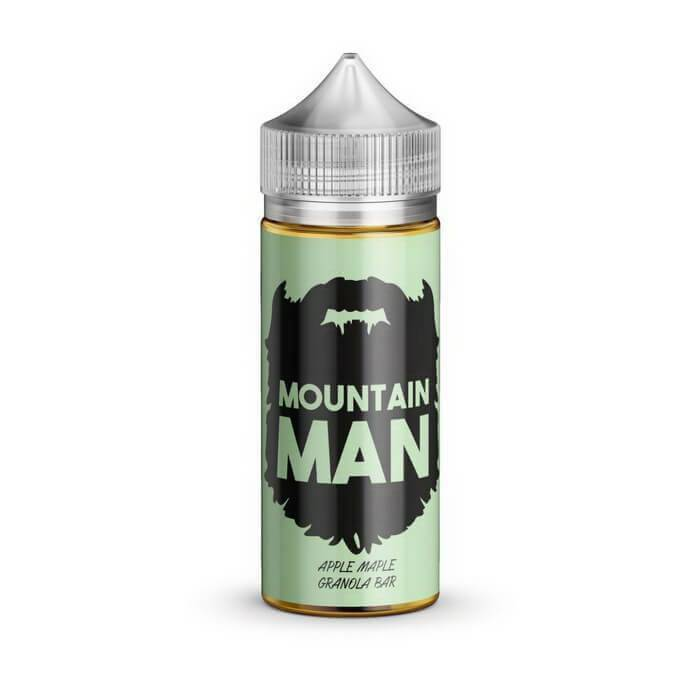Apple Maple Granola Bar Crunch by Mountain Man E-Liquid - Cheap Vape Juice - East Coast Vape Distribution