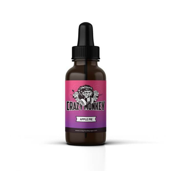 Apple Pie by Crazy Monkey eJuice - Unavailable - Cheap Vape Juice - East Coast Vape Distribution