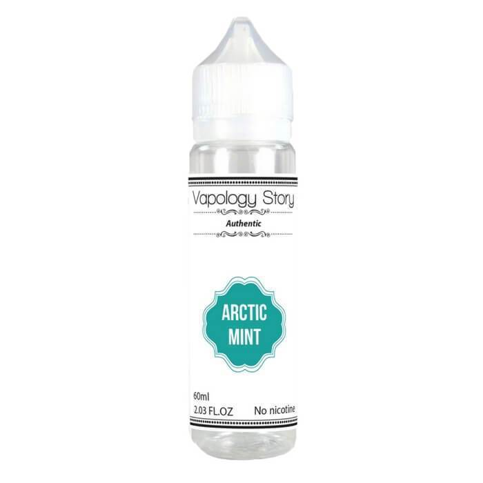 Arctic Mint by Vapology Story eJuice - Cheap Vape Juice - East Coast Vape Distribution