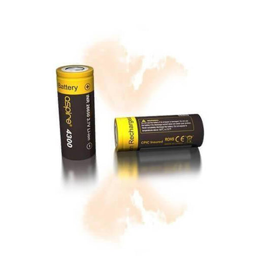 Aspire 26650 (4300 mAh) Battery - ECVD