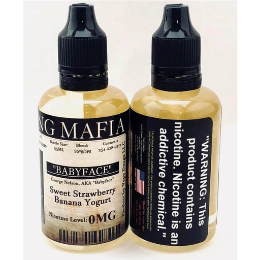 Babyface by Vaping Mafia E-Liquid - Cheap Vape Juice - East Coast Vape Distribution