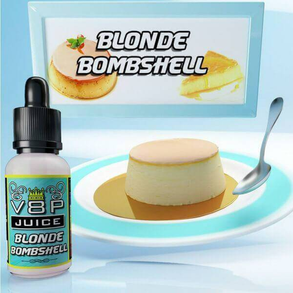 Blonde Bombshell by V8P Juice E-Liquid - ECVD