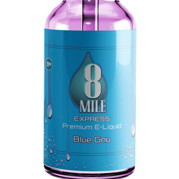 Blue Gnu by 8 Mile Express eJuice - Cheap Vape Juice - East Coast Vape Distribution