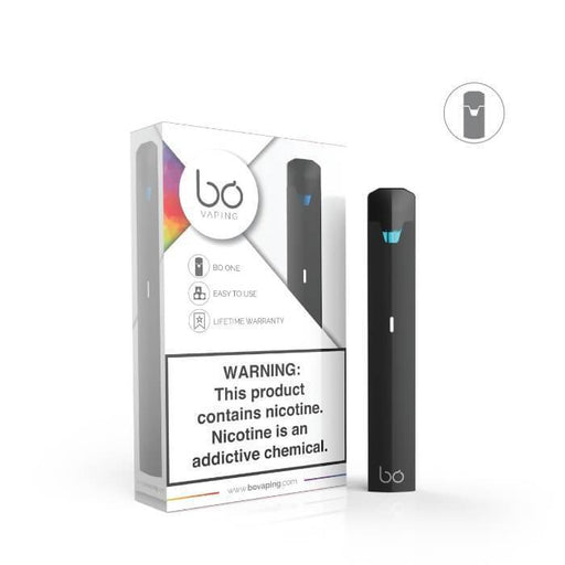 Bo One Soft Touch Black Pen Vaporizer Starter Kit - Cheap Vape Juice - East Coast Vape Distribution