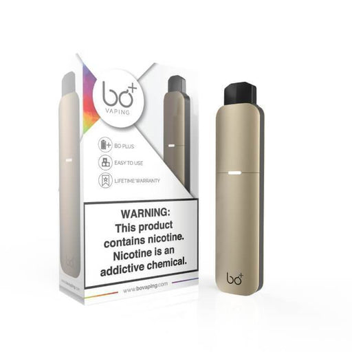 Bo Plus (Bo+) Champagne Pen Vaporizer Starter Kit - Cheap Vape Juice - East Coast Vape Distribution