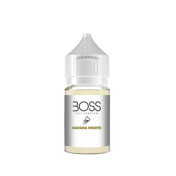 Boss Havana Nights Nic Salt by Apollo E-Liquids - Cheap Vape Juice - East Coast Vape Distribution