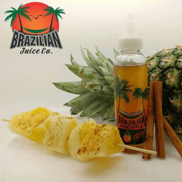 Brazilian Pineapple by Brazilian Juice Co - Cheap Vape Juice - East Coast Vape Distribution