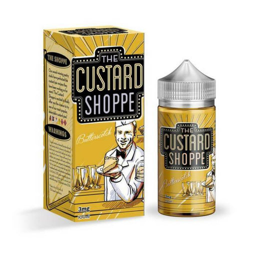 Butterscotch by The Custard Shoppe E-Juice - Cheap Vape Juice - East Coast Vape Distribution