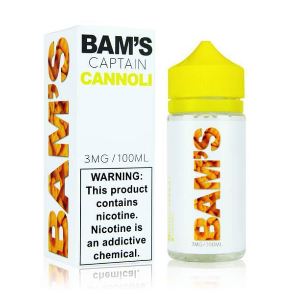 Captain Cannoli by Bam's Cannoli eJuice - Cheap Vape Juice - East Coast Vape Distribution