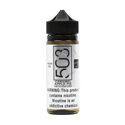 Caramel Apple Pie (High VG) by 503 eLiquid - Cheap Vape Juice - East Coast Vape Distribution