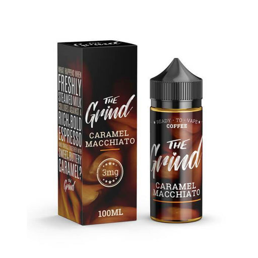 Caramel Macchiato by The Grind E-Liquid - Cheap Vape Juice - East Coast Vape Distribution