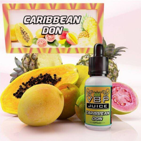 Caribbean Don by V8P Juice E-Liquid - Cheap Vape Juice - East Coast Vape Distribution