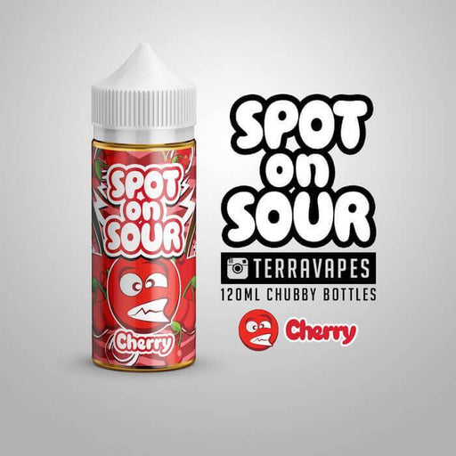 Cherry by Spot On Sour E-Liquid - Discontinued - Cheap Vape Juice - East Coast Vape Distribution