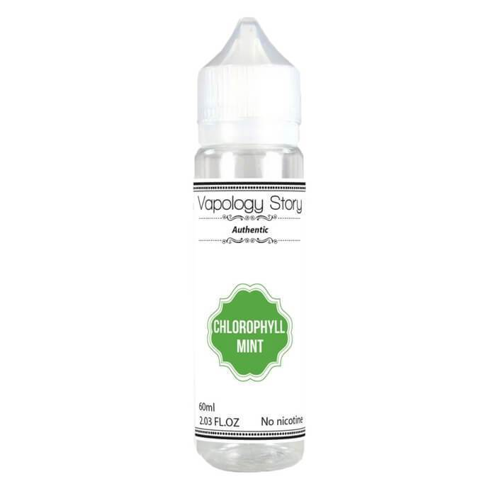 Chlorophyll Mint by Vapology Story eJuice - ECVD