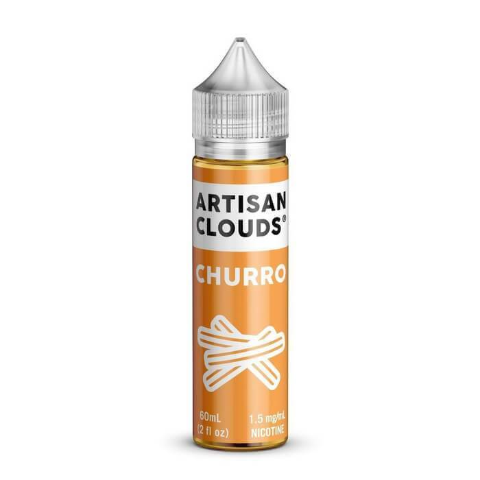 Churro by Artisan Clouds eJuice - Cheap Vape Juice - East Coast Vape Distribution
