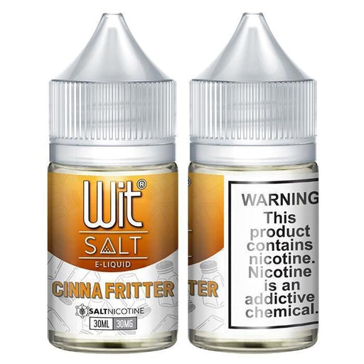 Cinna Fritter by Wit Nicotine Salt E-Liquid - Cheap Vape Juice - East Coast Vape Distribution