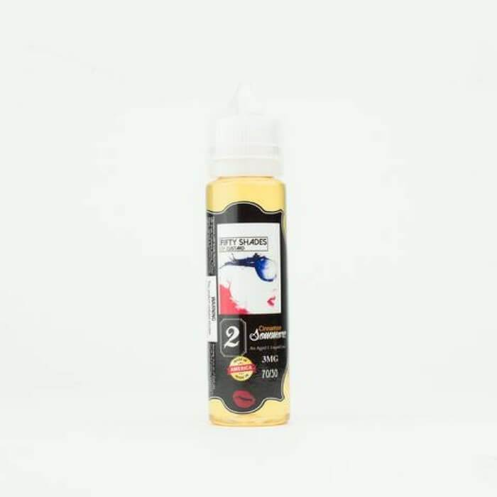 Cinnamon Sommore by 50 Shades of Custard E-Juice - Cheap Vape Juice - East Coast Vape Distribution