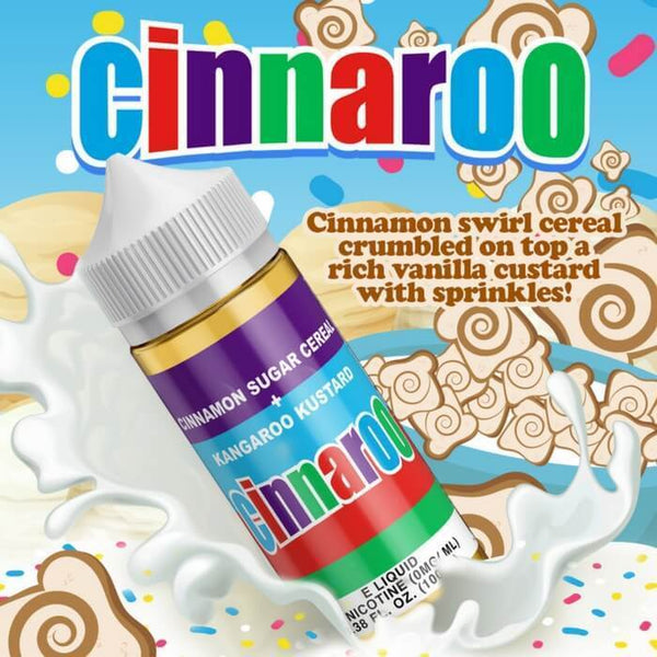 Cinnaroo by Cloud Thieves eJuice - Cheap Vape Juice - East Coast Vape Distribution
