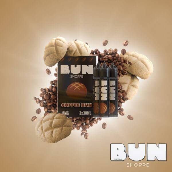 Coffee Bun by Bun Shoppe E-Liquids - Cheap Vape Juice - East Coast Vape Distribution