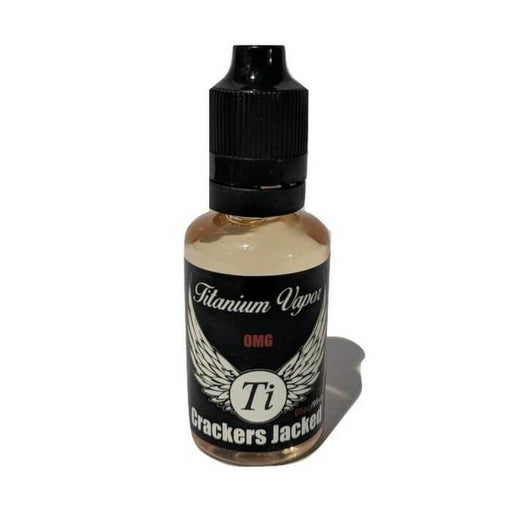 Crackers Jacked by Titanium Vapor eJuice - Cheap Vape Juice - East Coast Vape Distribution