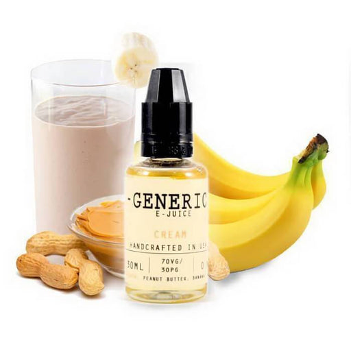 Cream by Generic E-Juice - Cheap Vape Juice - East Coast Vape Distribution