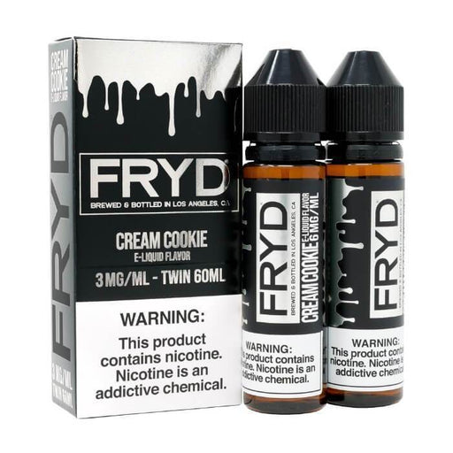 Cream Cookie (120ml) by FRYD Premium E-Liquid - Cheap Vape Juice - East Coast Vape Distribution