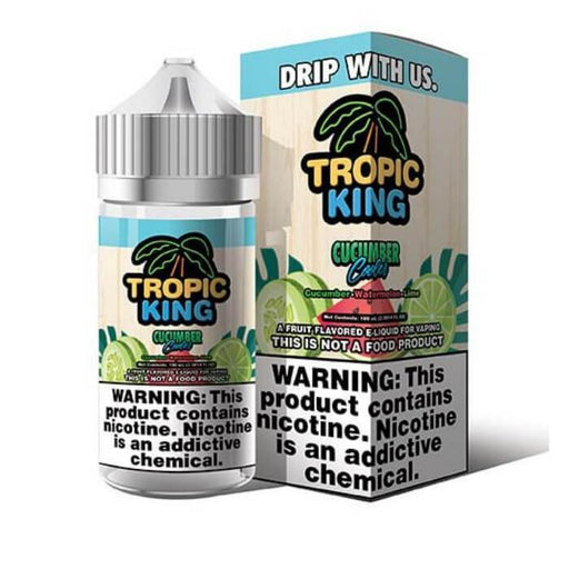 Cucumber Cooler by Tropic King eJuice - Cheap Vape Juice - East Coast Vape Distribution
