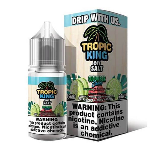Cucumber Cooler Nicotine Salt by Tropic King eJuice - Cheap Vape Juice - East Coast Vape Distribution