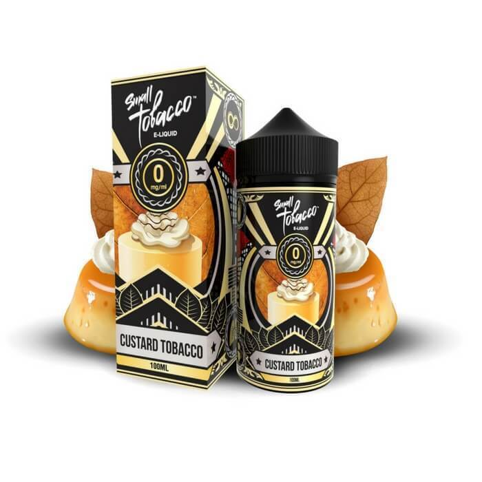 Custard Small Tobacco by One Hit Wonder E-Liquid - ECVD
