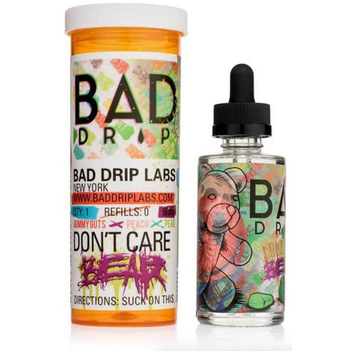 Don't Care Bear by Bad Drip eJuice - Cheap Vape Juice - East Coast Vape Distribution
