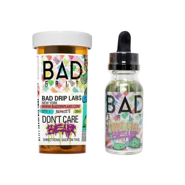 Don't Care Bear by Bad Drip Nicotine Salt eJuice - Cheap Vape Juice - East Coast Vape Distribution