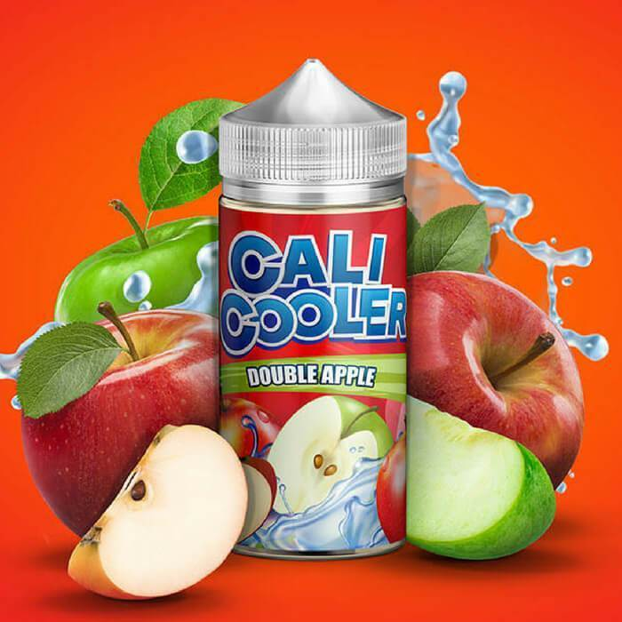 Double Apple by Cali Cooler E-Liquid - ECVD