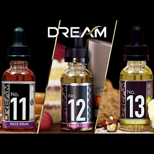 Dream E-Liquid 180ml Bundle - Cheap Vape Juice - East Coast Vape Distribution