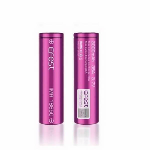 Efest 18650 3000mAh 35A V1 Battery - Cheap Vape Juice - East Coast Vape Distribution