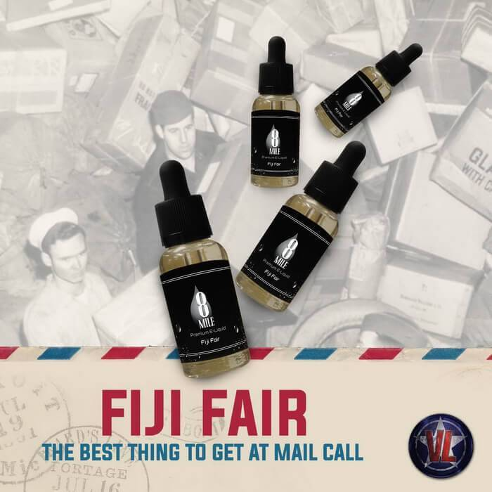 Fiji Fair by 8 Mile Premium eJuice - Cheap Vape Juice - East Coast Vape Distribution