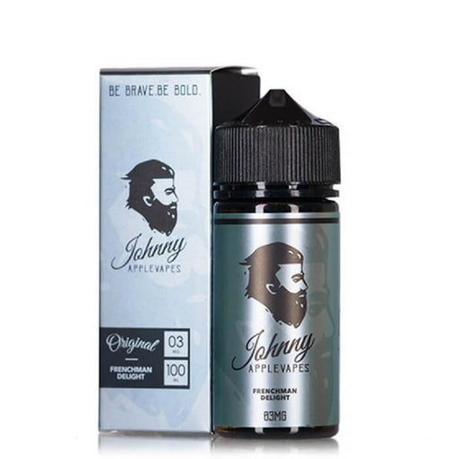 Frenchman Delight by Johnny Applevapes E-Liquid - Cheap Vape Juice - East Coast Vape Distribution