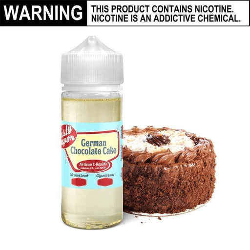 German Chocolate Cake by Tasty Vapor E-Juice - Cheap Vape Juice - East Coast Vape Distribution