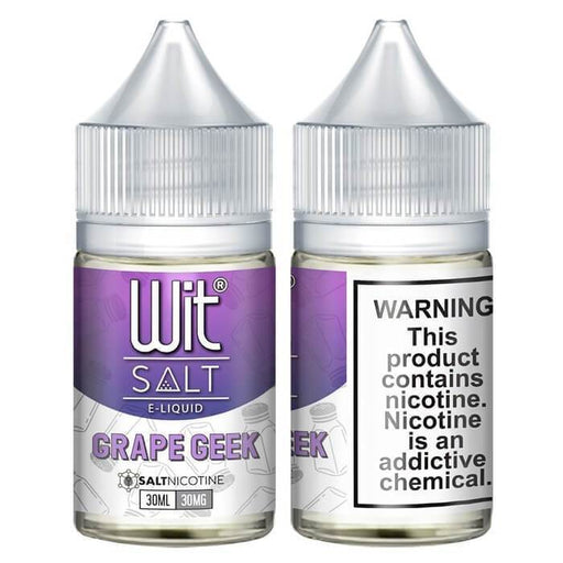 Grape Greek by Wit Nicotine Salt E-Liquid - Cheap Vape Juice - East Coast Vape Distribution