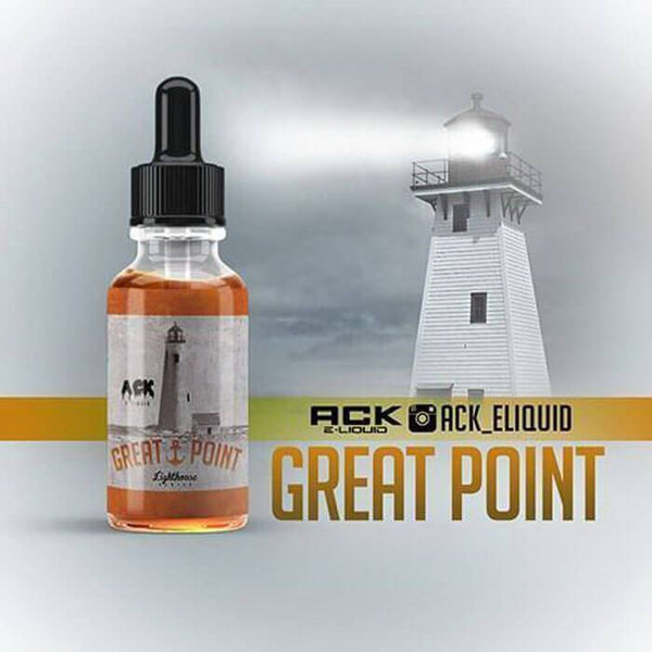 Great Point by ACK E-Liquid - Cheap Vape Juice - East Coast Vape Distribution