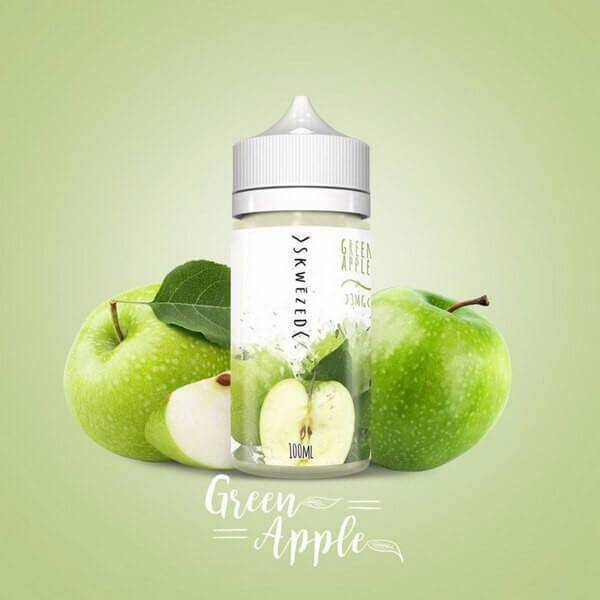 Green Apple by Skwezed eJuice - Cheap Vape Juice - East Coast Vape Distribution