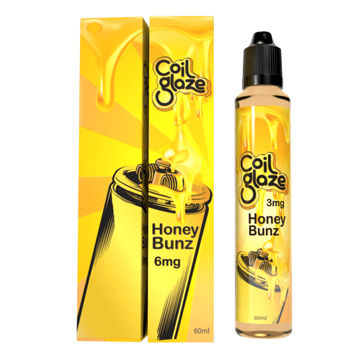 Honey Bunz by Coil Glaze E-Liquid - Cheap Vape Juice - East Coast Vape Distribution