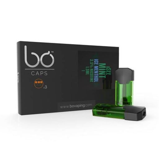 I See Mint Menthol Ice Bo Caps by Bo Vaping (3-Pack) #1