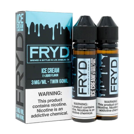 Ice Cream (120ml) by FRYD Premium E-Liquid - Cheap Vape Juice - East Coast Vape Distribution