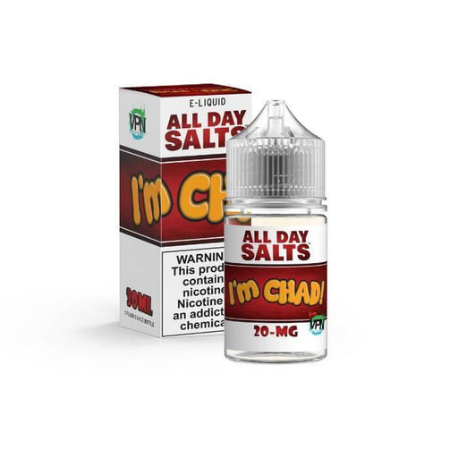 I'm Chad All Day Salts by VPN Liquids Premium E-Liquid - Cheap Vape Juice - East Coast Vape Distribution