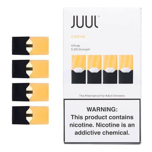 Juul Creme Pods (4-Pack) - Cheap Vape Juice - East Coast Vape Distribution