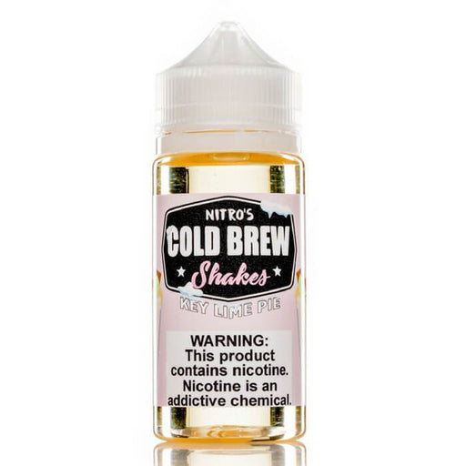 Key Lime Pie by Nitro's Cold Brew Shakes eJuice - Cheap Vape Juice - East Coast Vape Distribution