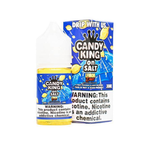 Lemon Drops Nicotine Salt by Candy King On Salt eJuice - Cheap Vape Juice - East Coast Vape Distribution