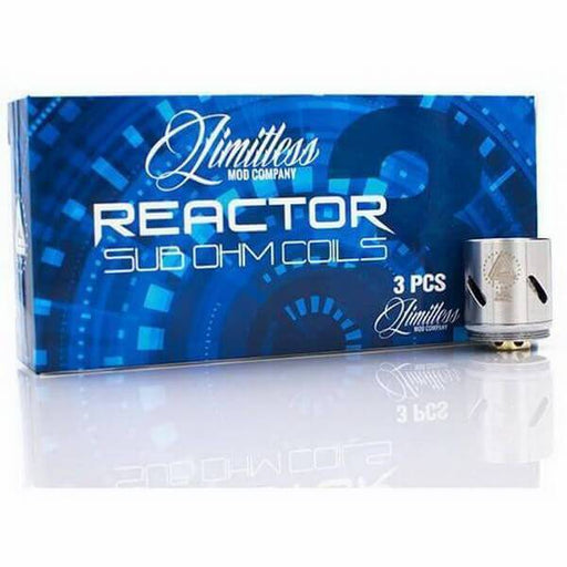 Limitless Reactor Replacement Coils (3-Pack) - Cheap Vape Juice - East Coast Vape Distribution